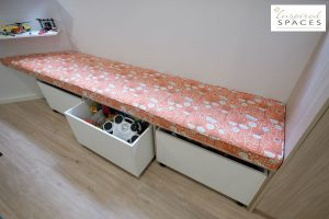 daybed toy boxes