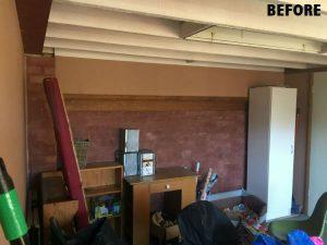 basement before conversion