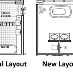 Ensuite design layout change