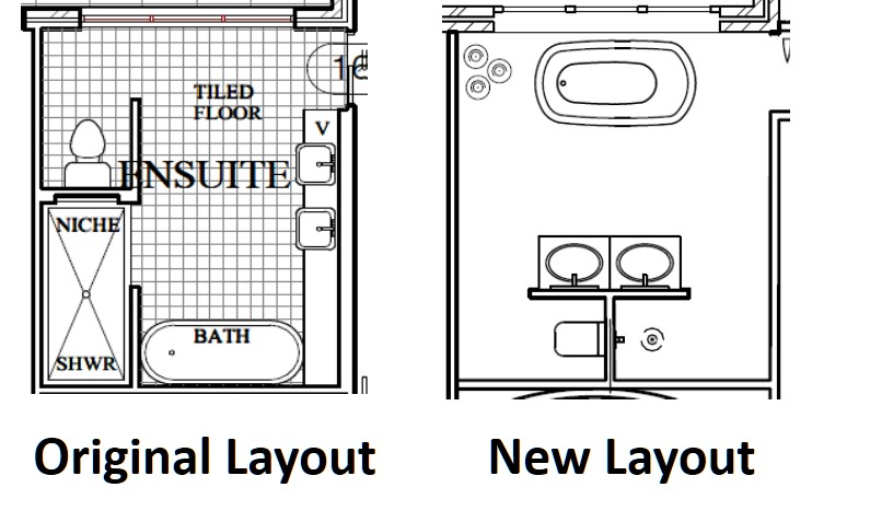 Bath Tub Blueprint