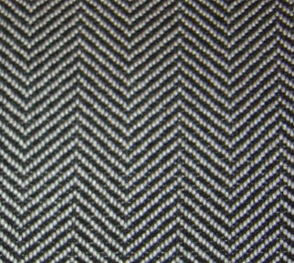 Interior Design Terms - Herringbone pattern can be subtle or striking depending on its size