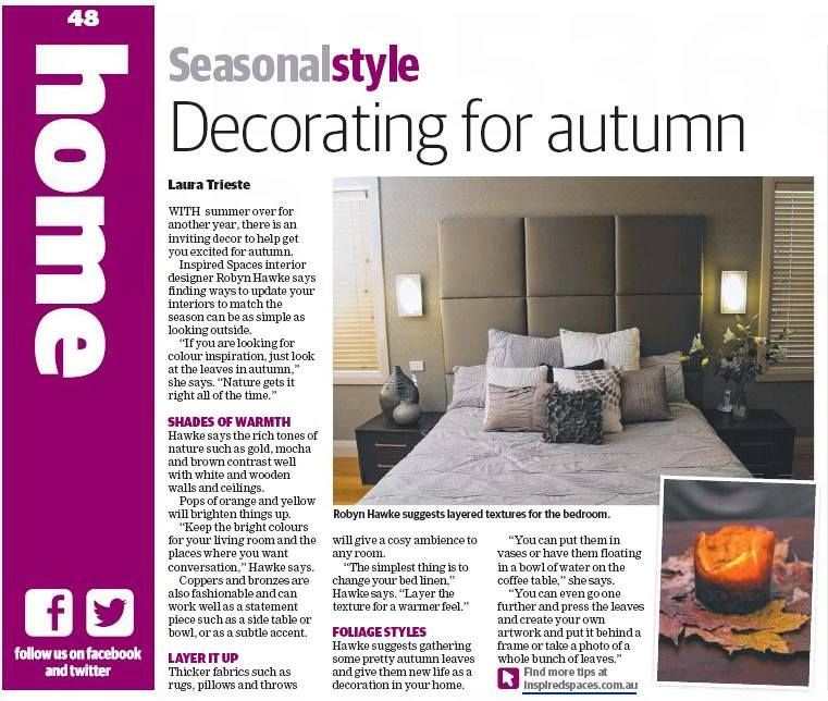 Decorating for Autumn