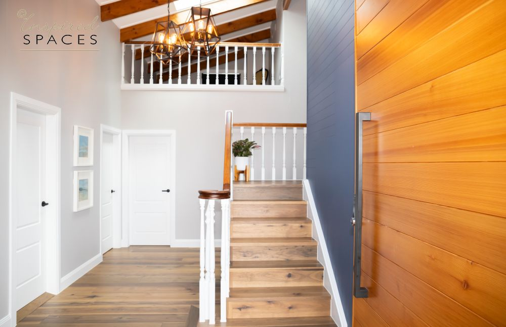 blue and timber entry