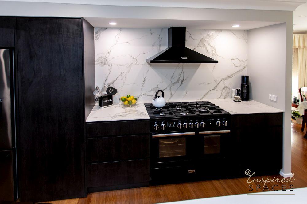 Polytec Ravine Wenge kitchen joinery
