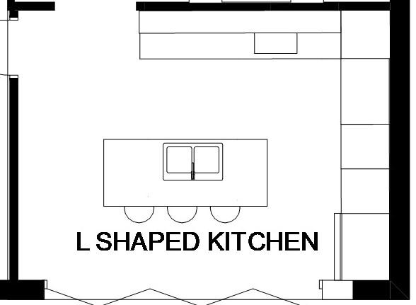 L-Shaped Kitchens