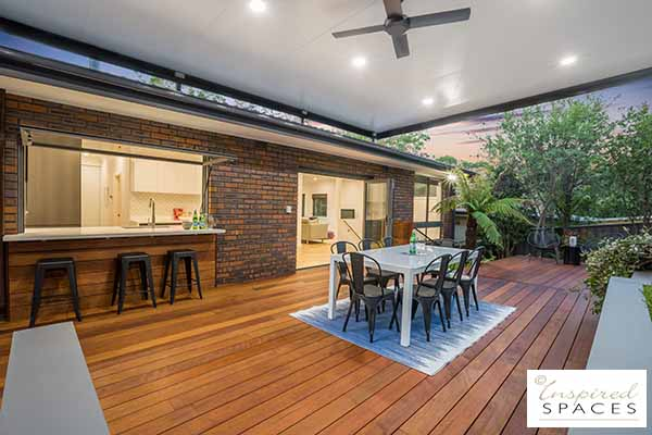 outdoor pergola and deck