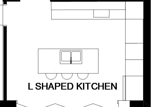 L-Shaped Kitchens