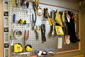 a decluttered workspace