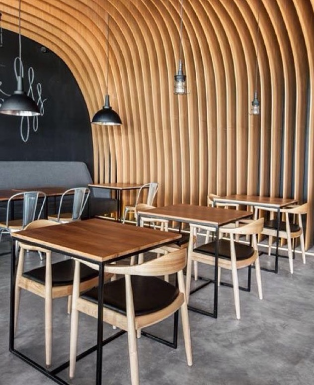 scandinavian design tables and chairs