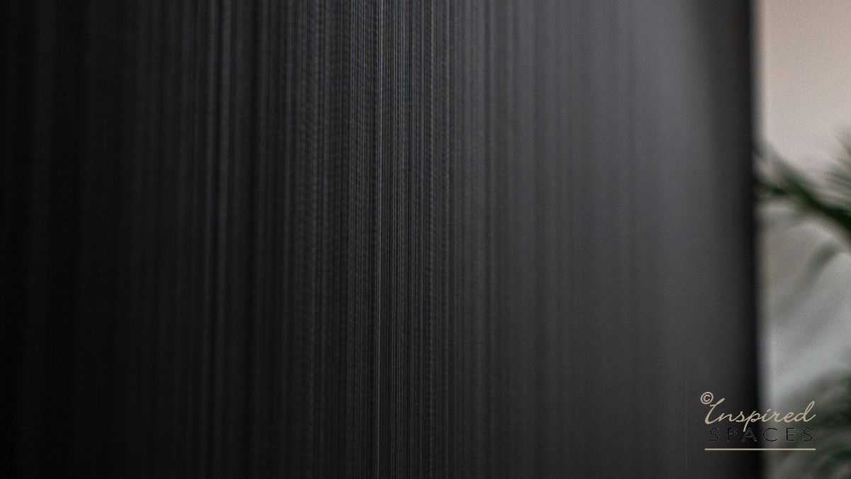 black textured wall paper