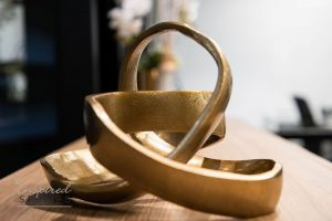 large gold ring loop accessory