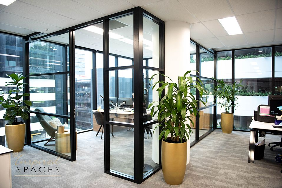 glass executive office