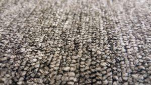 Close up of loop pile carpet