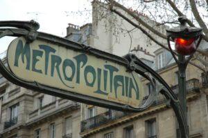 Hector Guimard's Paris Metro entrance